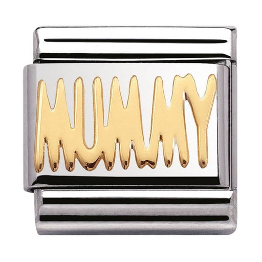 Nomination Classic Gold Charm - Mummy