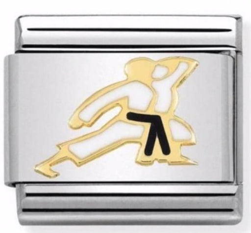 Nomination Classic Gold Charm - Karate