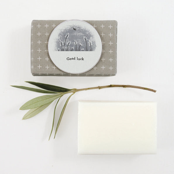 East of India Wrapped Soap- Good Luck