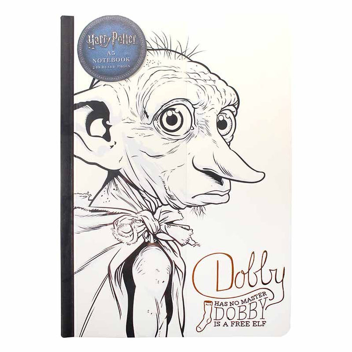 Harry Potter Dobby A5 Notebook