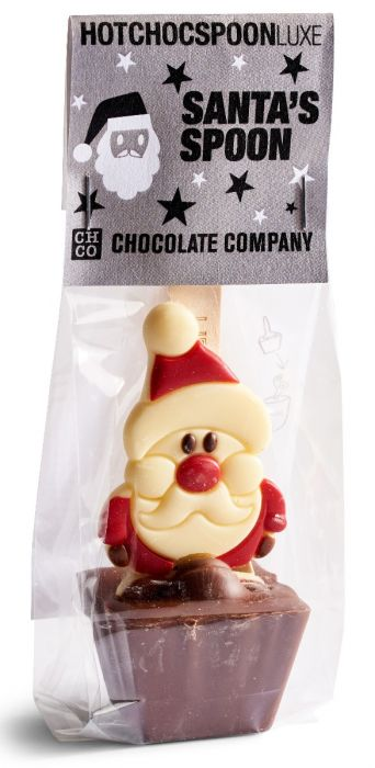 Santa Chocolate Spoon 50g