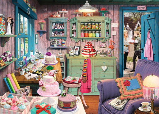 Ravensburger My Haven No.5, The Cake Shed, 1000pc Jigsaw Puzzle