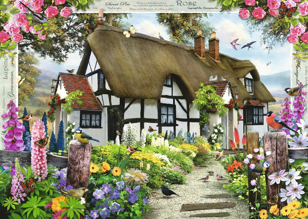 Ravensburger Rose Cottage 1000pc Jigsaw Puzzle