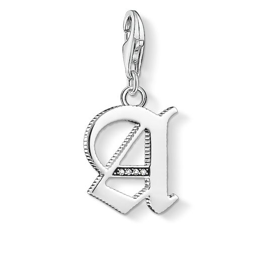 Thomas Sabo Letter A Silver Charm