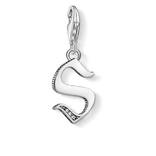 Thomas Sabo Letter S Silver Charm