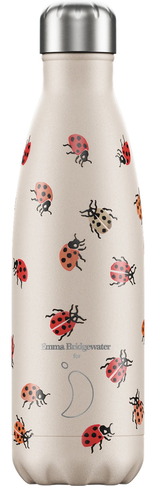 Chilly's Bottle 500ml Emma Bridgewater Ladybird