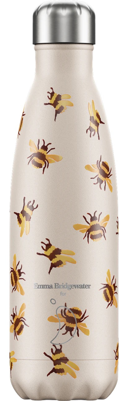 Chilly's Bottle 500ml Emma Bridgewater Bumblebee