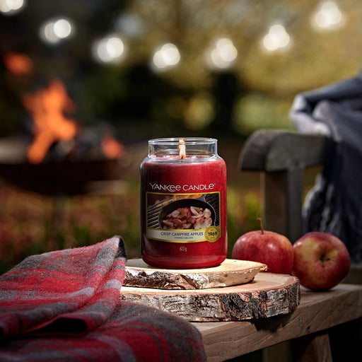 Yankee Candle Crisp Campfire Apples Large Jar Candle
