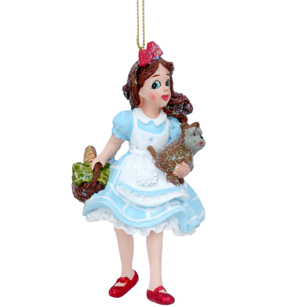 Gisela Graham Resin Dorothy with Toto Decoration