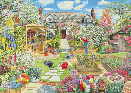 Ravensburger Gardening World – Spring, 1000pc Jigsaw Puzzle