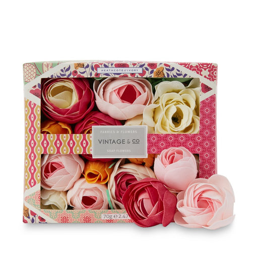 Heathcote & Ivory Vintage & Co Fabrics & Flowers Soap Flowers