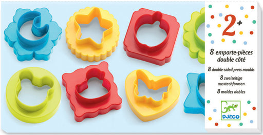 Djeco 8 Double Sided Cookie Cutters