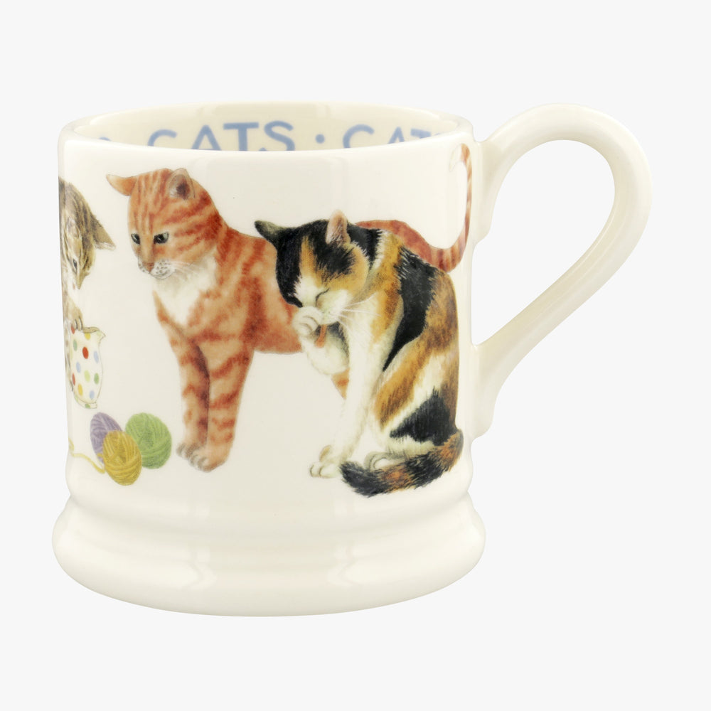 Emma Bridgewater Cats Cats All Over 1/2 Pint Mug