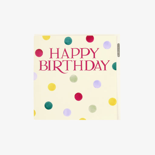 Emma Bridgewater Polka Dots Happy Birthday Card