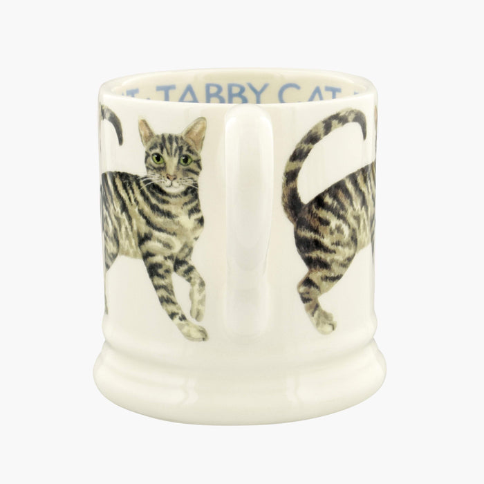 Emma Bridgewater Cats Tabby Cat 1/2 Pint Mug