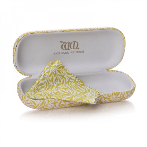 William Morris Willow Yellow Glasses Case