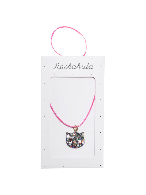 Rockahula Glitter Cat Necklace