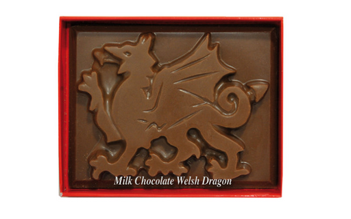 Chocolate Welsh Dragon