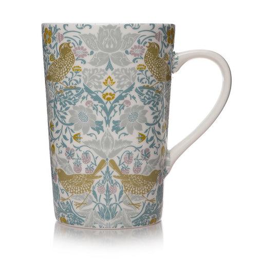 William Morris Strawberry Thief Latte Mug in a Box
