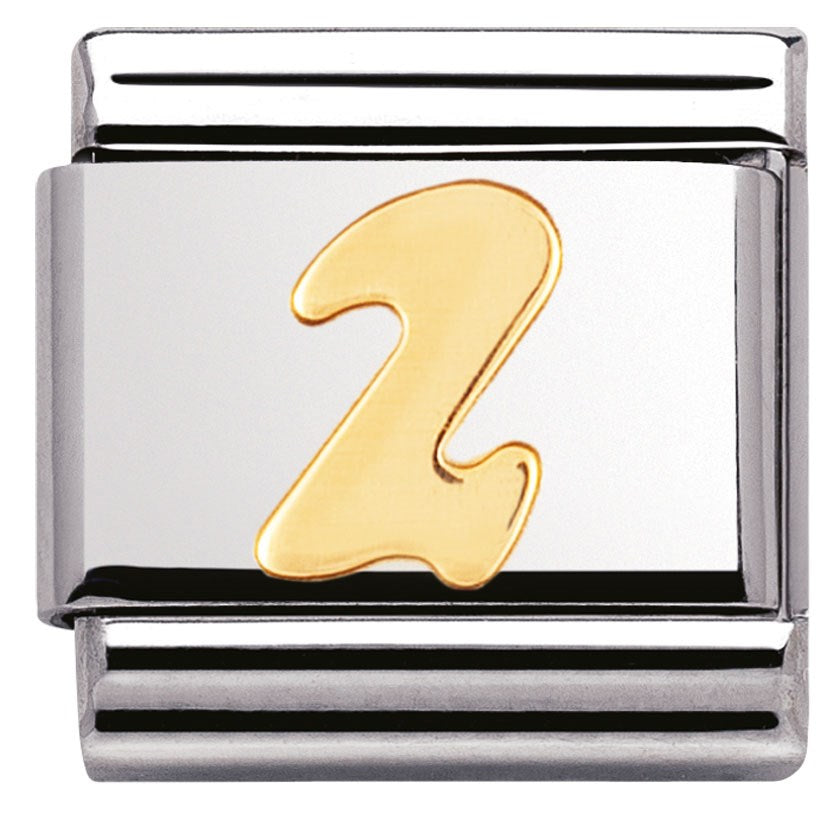 Nomination Classic Charm - Gold Number 2