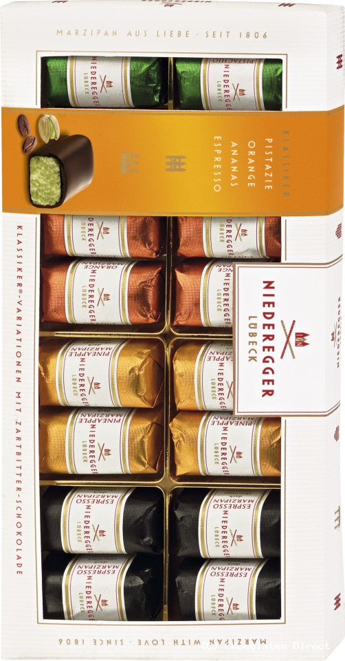 Niederegger 16pc Marzipan Assorted Mini Loaves