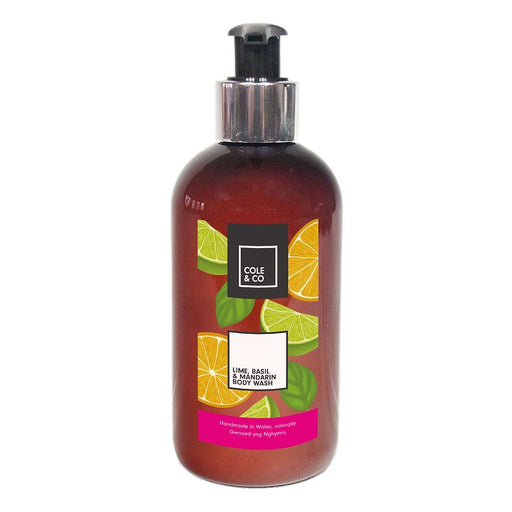 Cole & Co Body Wash Lime, Basil & Mandarin