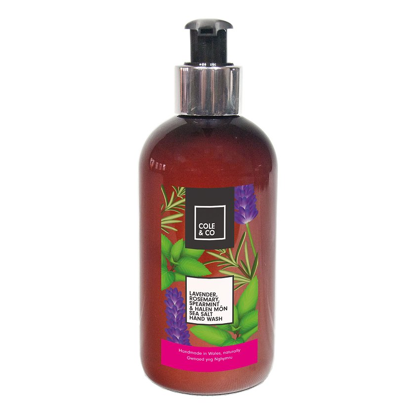 Cole & Co Hand Wash Lavender, Rosemary, Spearmint & Halen Mon