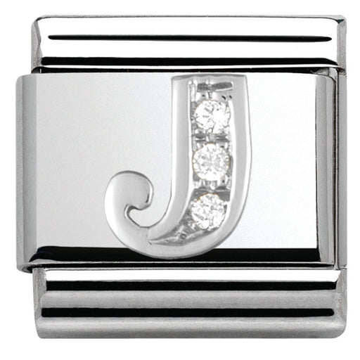 Nomination Classic Charm - Silver J