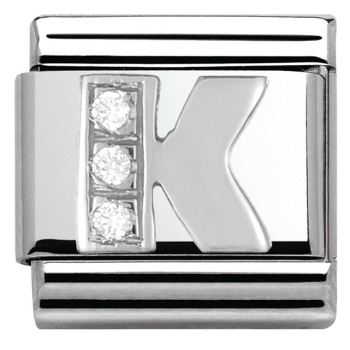 Nomination Classic Charm - Silver K