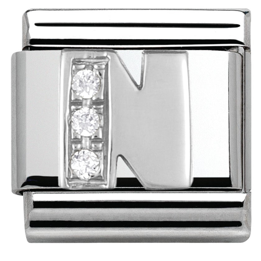 Nomination Classic Charm - Silver N