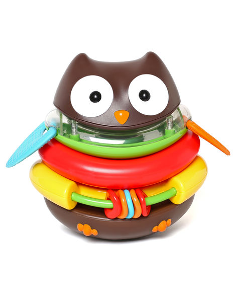 Skip Hop Explore & More Rocking Owl Stacker Toy