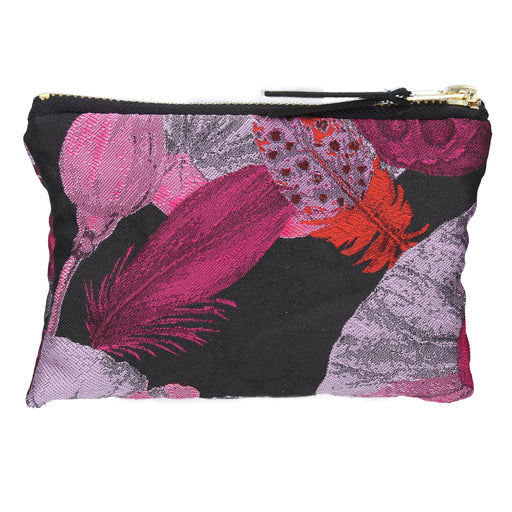 Gisela Graham Poppy Head Jacquard Purse