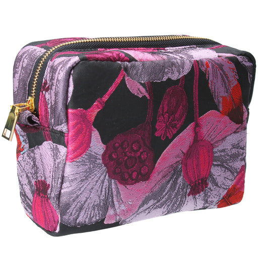 Gisela Graham Poppy Head Cosmetic Bag