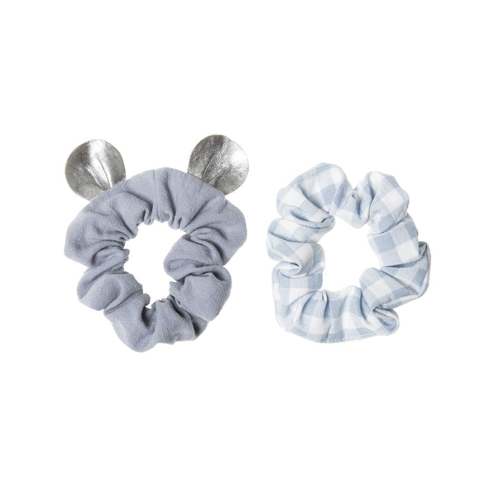 Rockahula Little Mouse Scrunchie Set Blue