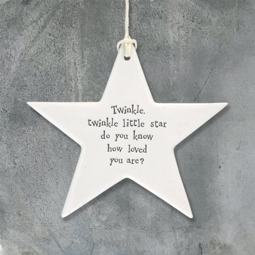 East of India - Porcelain Star-Twinkle Twinkle