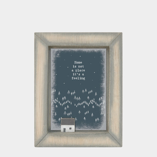 East of India Box Frame-Home is a Feeling