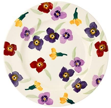 Emma Bridgewater Purple Wallflower 8 1/2 Inch Plate