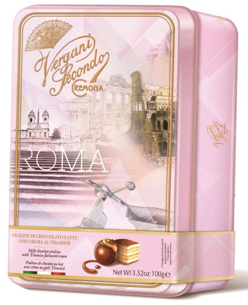 ROMA - Milk Chocolate Pralines with Tiramisu Cream 100g