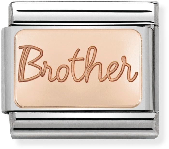 Nomination Classic Charm - Rose Gold Brother