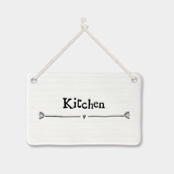 East of India Porcelain Sign-Kitchen