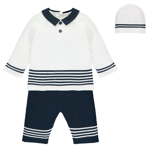 Emile et Rose Silas - Navy Outfit with Hat