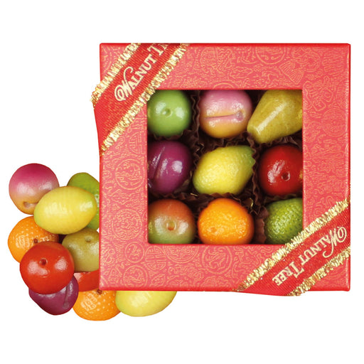 Walnut Tree Small Marzipan Fruit Box