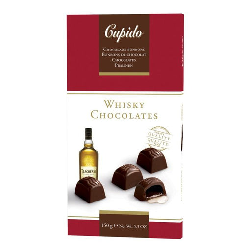 Cupido Whiskey Chocs 150g