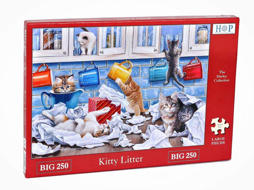 HOP Kitty Litter Big 250 Piece Jigsaw Puzzle