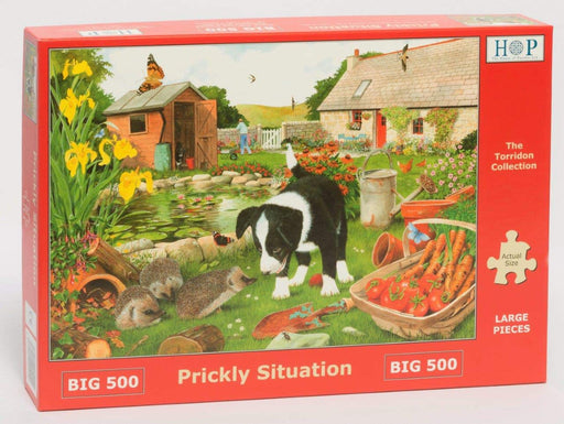 HOP Prickly Situations Big 500 Piece Jigsaw Puzzle
