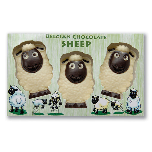 Chocolate Trio of Sheep