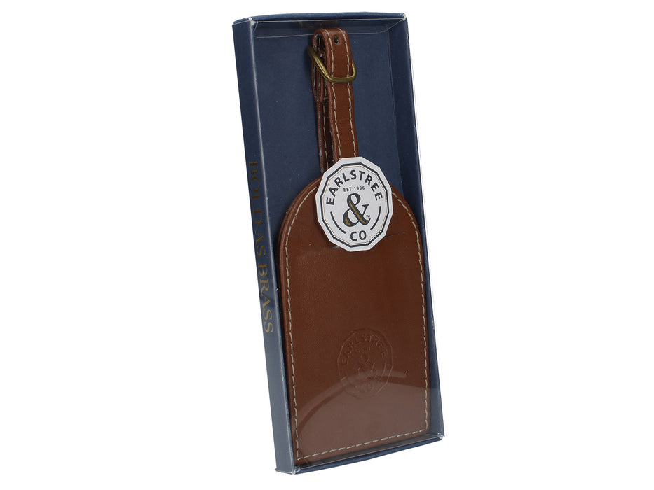 Earlstree & Co Leather Luggage Tag