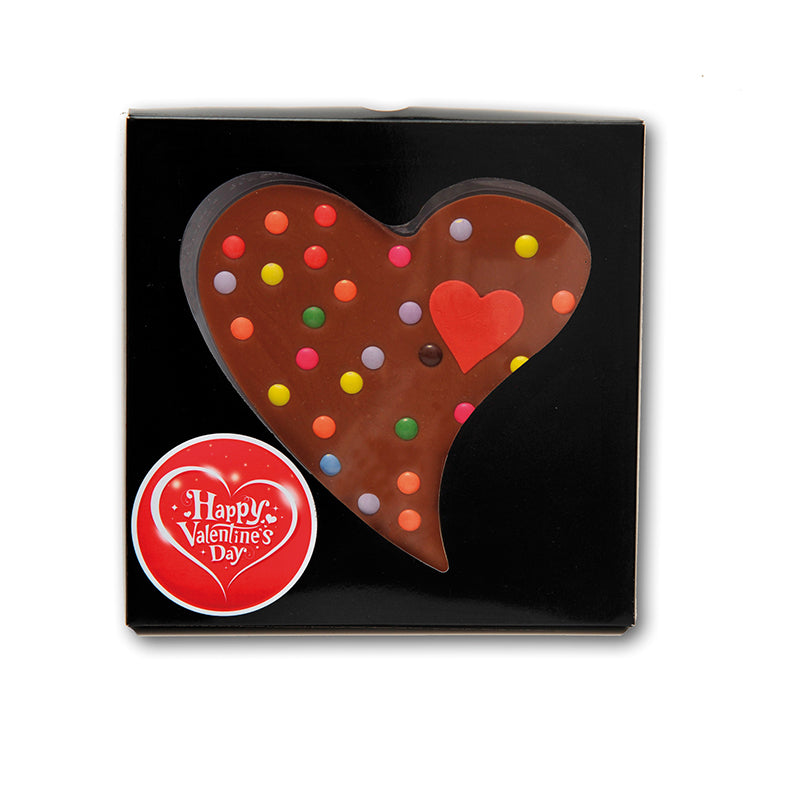 Giant Milk Chocolate Valentines Heart