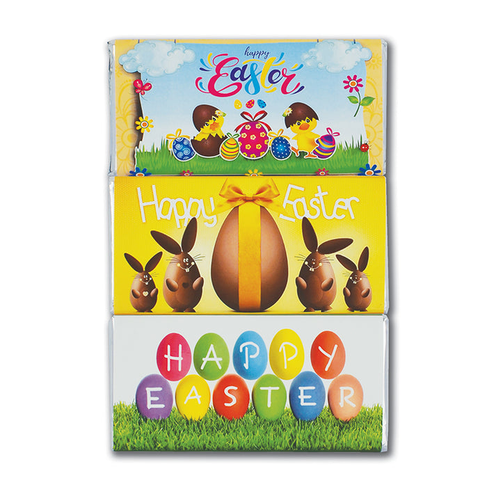 Trio of Easter Milk Chocolate Bar