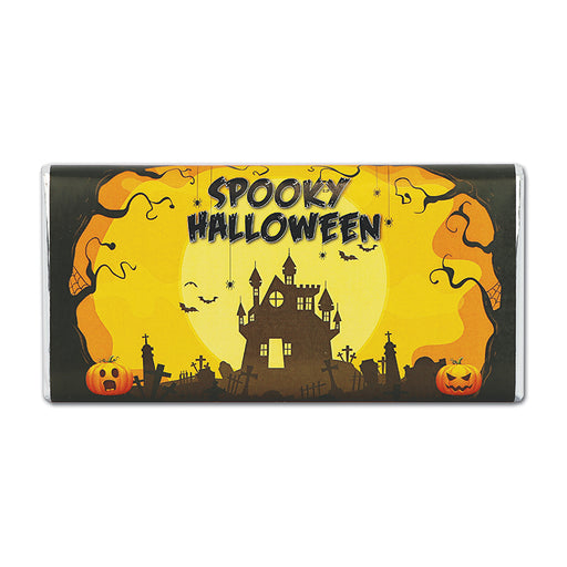Spooky Halloween Milk Chocolate Bar